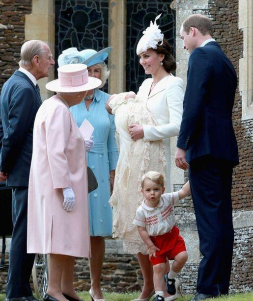 Принц Уильям и Кейт Миддлтон крестили дочку