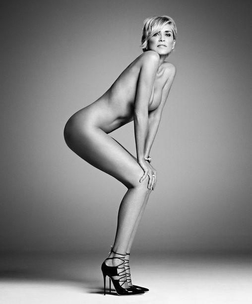 Шэрон Стоун разделась для эротической фотосессии