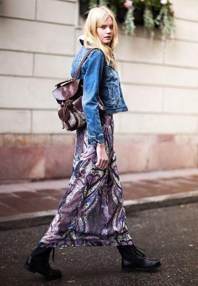 Платья-макси - хит осени 2015