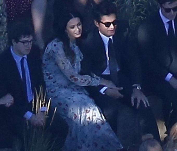 Кэти Перри и Джон Майер вместе на свадьбе