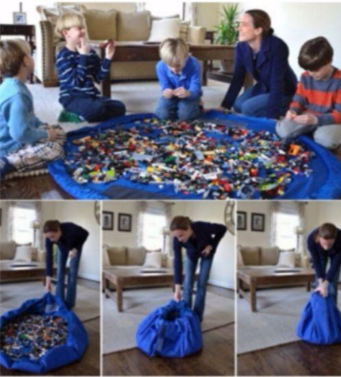 Как хранить детские игрушки?