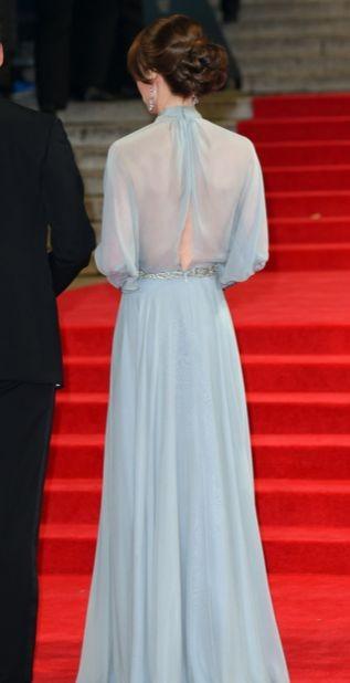 Кейт Миддлтон приехала на премьеру нового фильма о Джеймсе Бонде