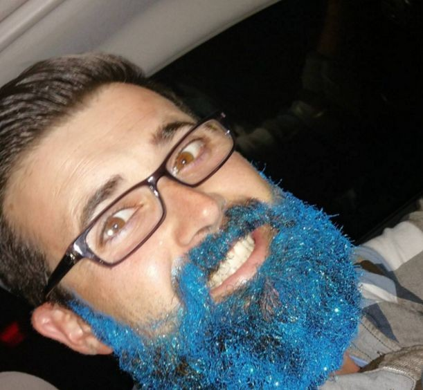 Блёстки в бороде - новый тренд мужской красоты