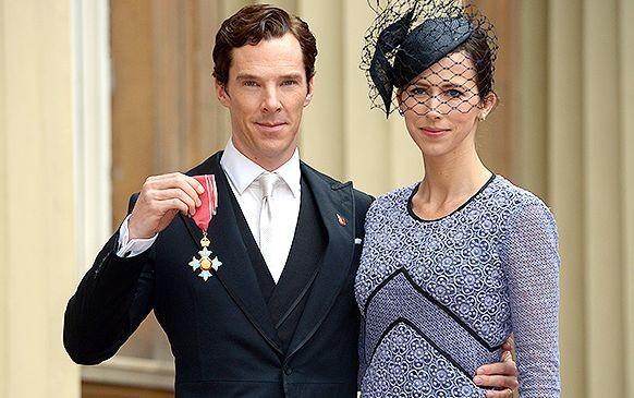 Бенедикт Камбербэтч награждён Орденом британской империи