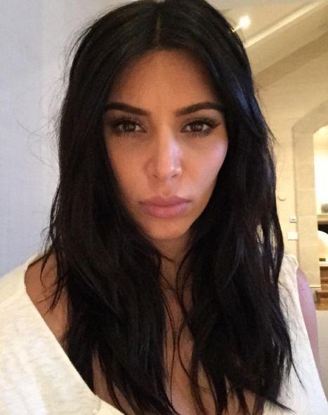 Ким Кардашян редко моет голову