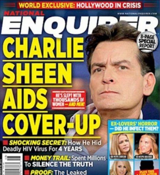 Чарли Шин ВИЧ-инфицирован