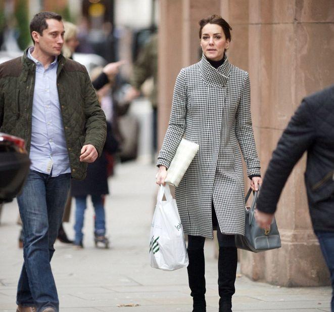 Кейт Миддлтон отправилась по магазинам