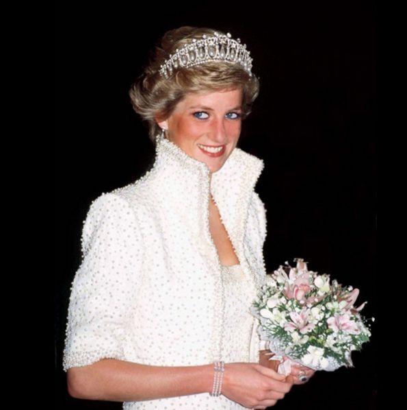 Кейт Миддлтон надела тиару принцессы Дианы
