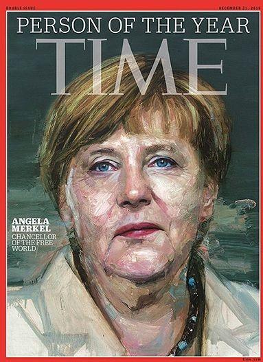 Ангела Меркель стала Человеком Года журнала Тайм