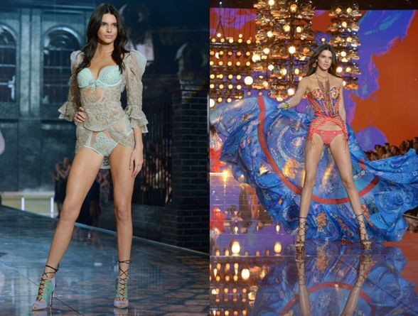 Праздничные ангелочки Victoria's Secret