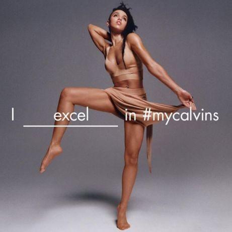 Джастин Бибер, FKA Twigs и другие звёзды в рекламе My Calvins