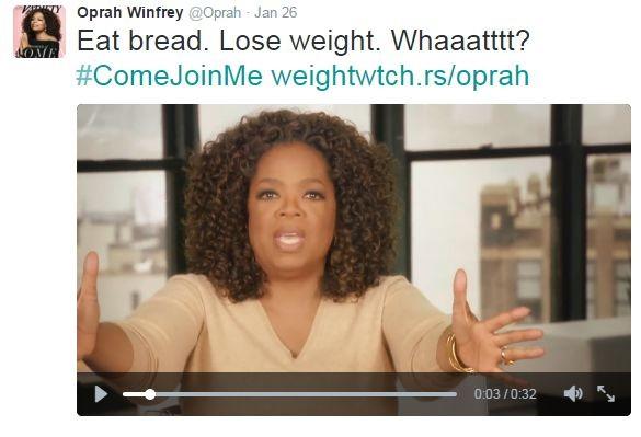 Опра Уинфри заработала 12 миллионов долларов одним твитом