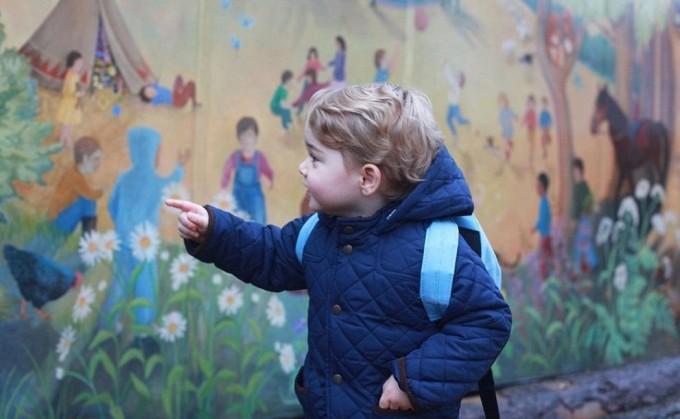 Сын принца Уильяма и Кейт Миддлтон пошёл в садик
