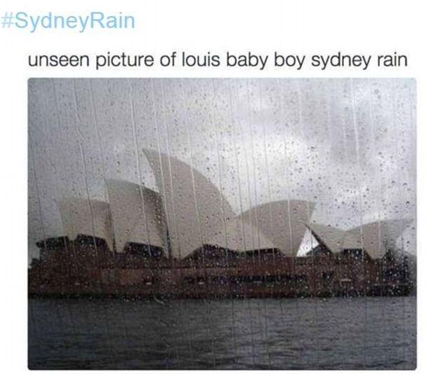 Имя сына Луи Томлинсона привело австралийцев в замешательство