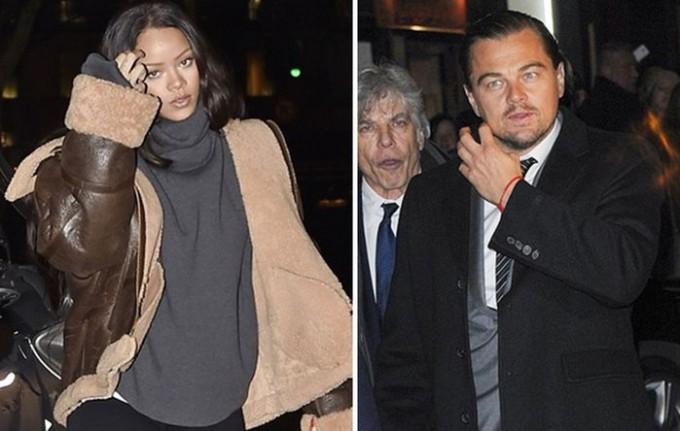 Леонардо Ди Каприо запрещает публикацию фото поцелуя с Рианной