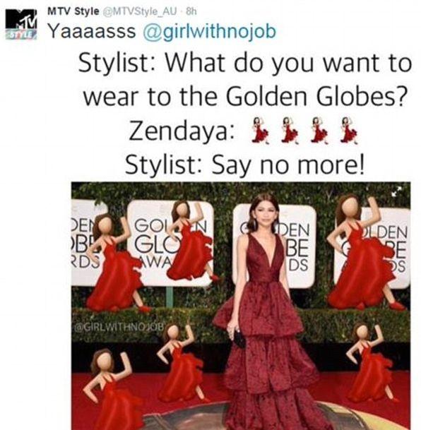 Худшие наряды Золотого Глобуса 2016