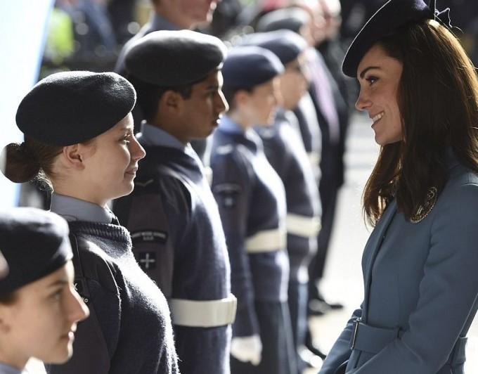 Кейт Миддлтон посетила службу по случаю 75-летия ВВС Великобритании