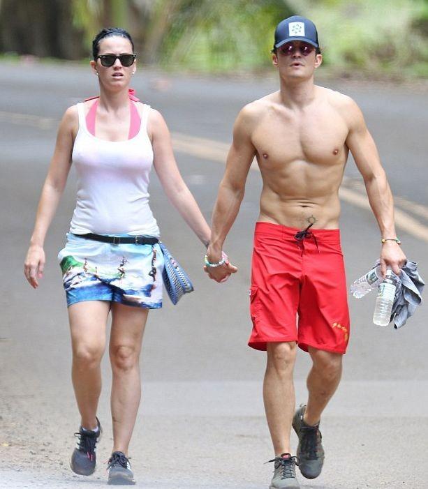 Кэти Перри и Орландо Блума сфотографировали вместе на отдыхе