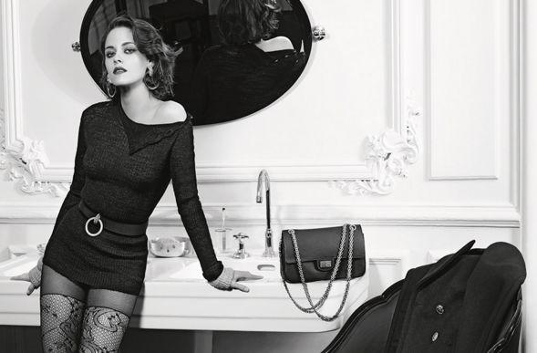 Кристен Стюарт в новой рекламе Шанель