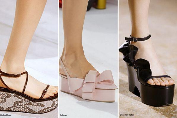 Модная обувь весна-лето 2016 – фото новинки
