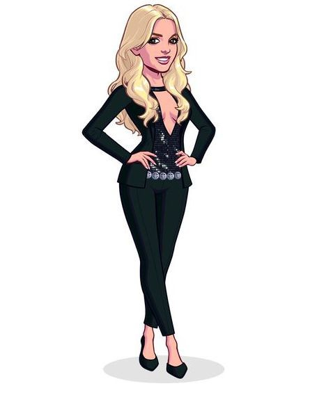 Бритни Спирс запускает собственную мобильную игру