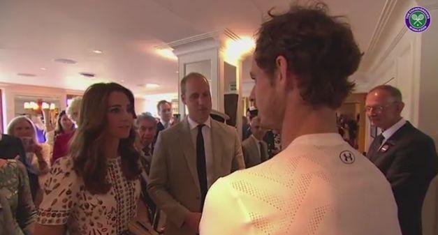 Принц Уильям и Кейт Миддлтон посетили финальный матчУимблдона