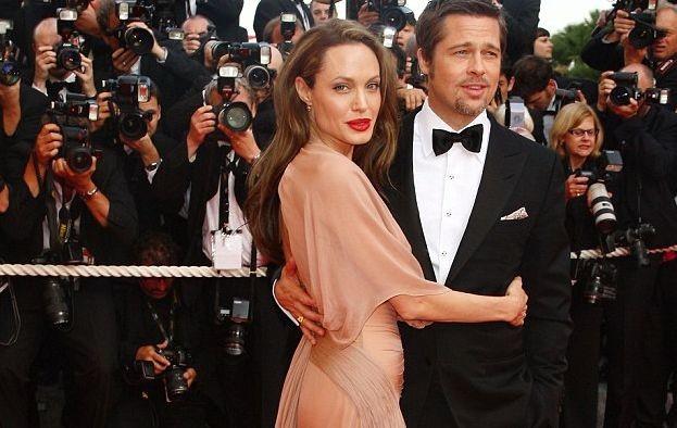 Анджелина Джоли и Брэд Питт жили раздельно задолго до развода