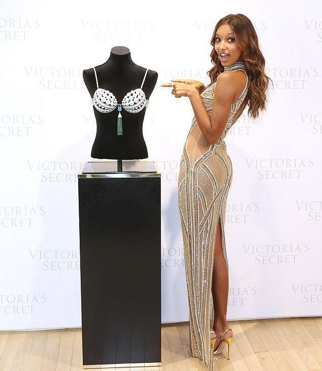 Жасмин Тукс выбрана моделью Fantasy Bra для шоу Victoria's Secret 2016