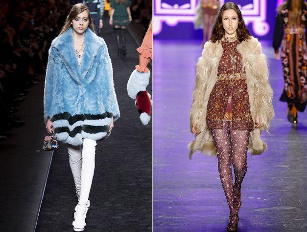 Модные шубы 2017 года