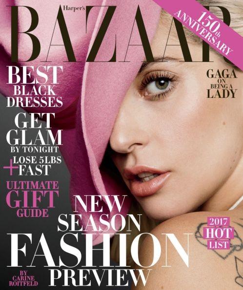 Леди Гага в Harper's Bazaar: слава - лучший наркотик