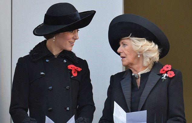 Кейт Миддлтон посетила парад в честь Дня памяти