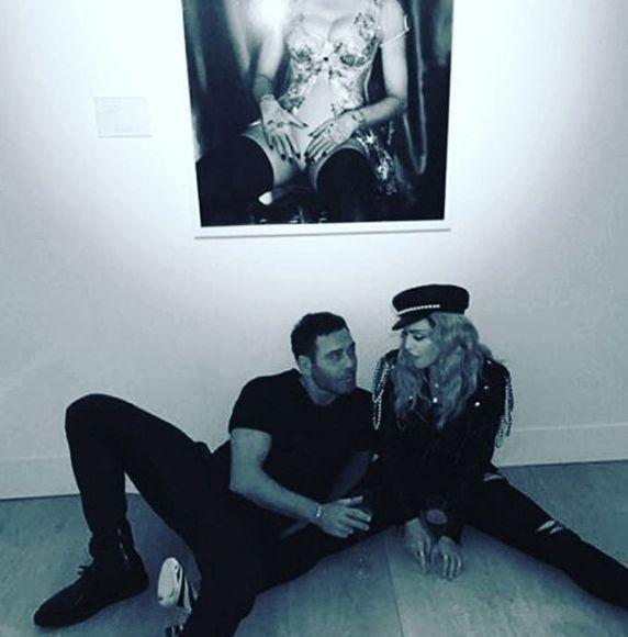 Пьяная Мадонна шокировала посетителей выставки в Лондоне