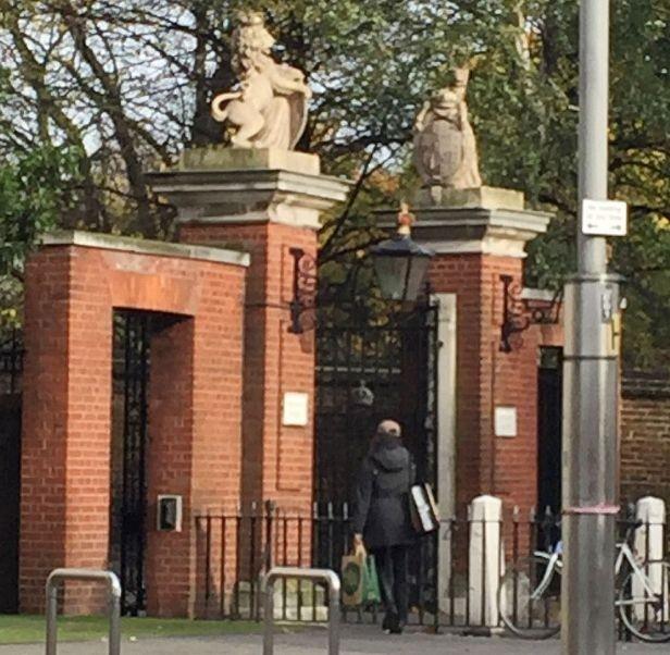 Меган Маркл приехала к принцу Гарри в Лондон
