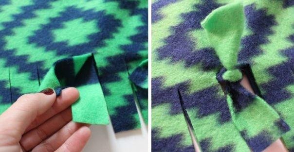 Уютные вещицы из флиса для тех, кто не умеет шить