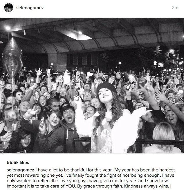 Селена Гомес всё ещё самая популярная звезда Инстаграма