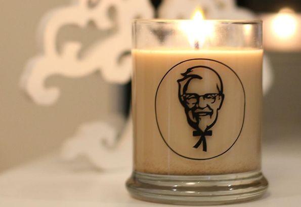KFC выпускает аромасвечи с запахом жареной курицы