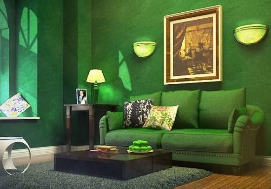 Бархат, зелёный цвет и другие тренды дизайна интерьера 2017