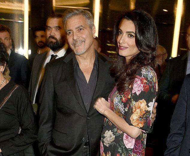 Амаль Клуни беременна?