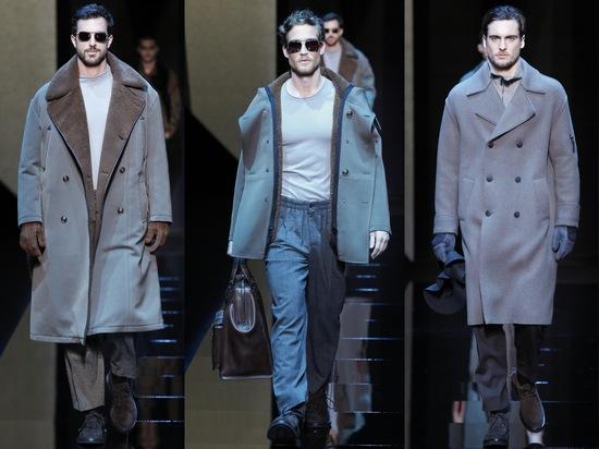 Giorgio Armani показал мужскую коллекцию осень-зима 2017