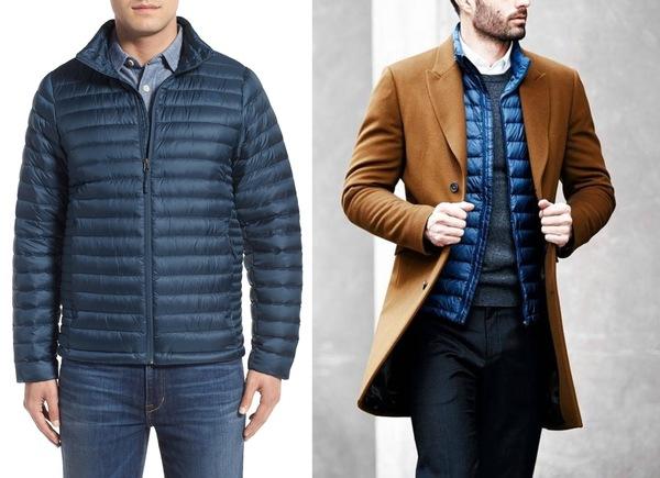 Модные пальто и куртки для мужчин