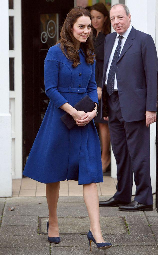 Кейт Миддлтон совершила первый в этом году официальный визит
