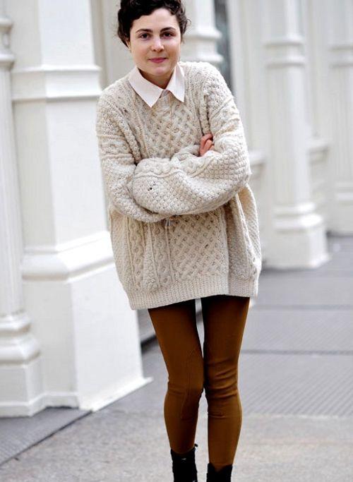 Оверсайз - модный тренд зимы 2017