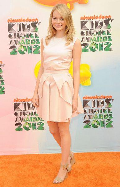 Лучшие наряды Kids' Choice Awards 2012