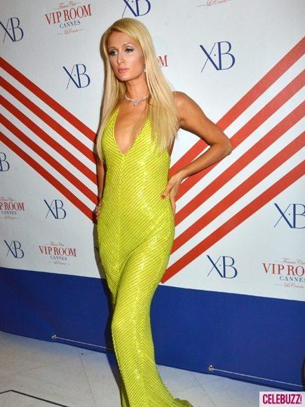 Пэрис Хилтон веселится в Каннах в платье за 11 тысяч долларов