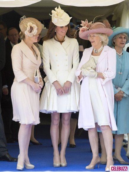 Принц Уильям и Кейт Миддлтон на церемонии Ордена Подвязки