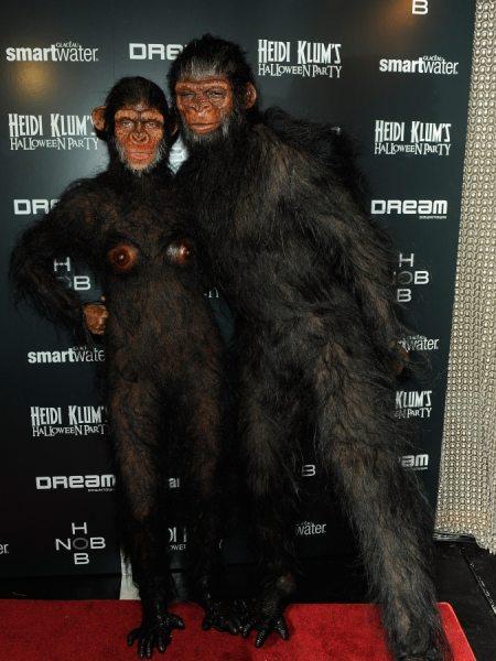Самые удачные костюмы на Хэллоуин Хайди Клум