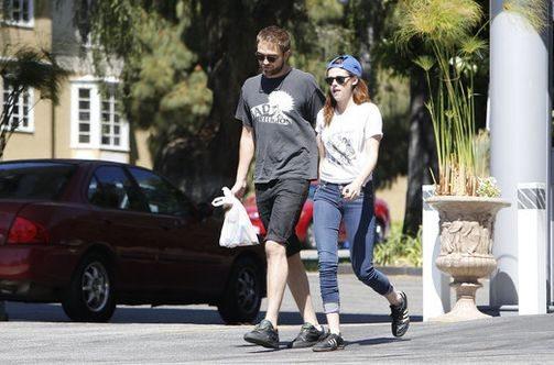 Роберт Паттинсон и Кристен Стюарт вместе в Лос-Анджелесе