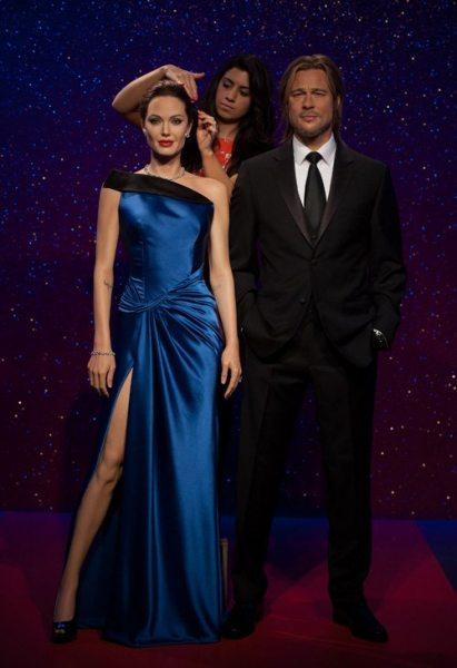 В Лондоне появились восковые фигуры Анджелины Джоли и Брэда Питта