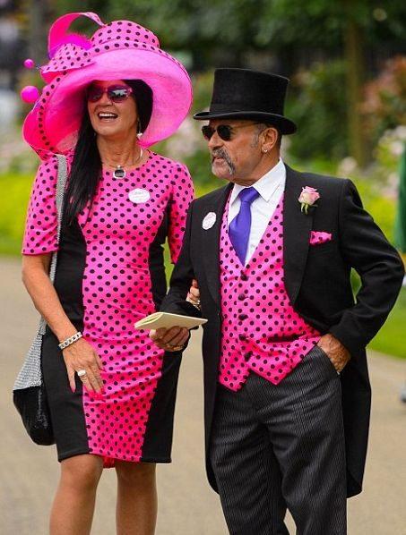 Самые заметные шляпки в Женский день на Королевских скачках