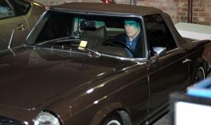 У Джона Траволты угнали раритетный автомобиль
